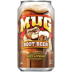 A MUG Root Beer product-can