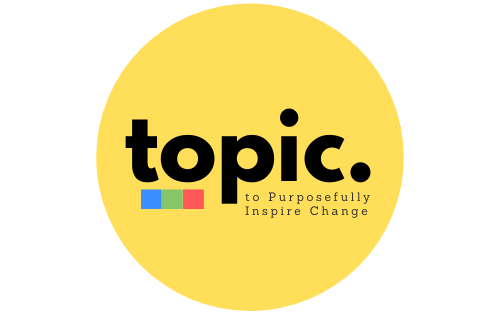 topic - to purposefully inspire change logo