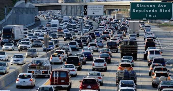 Traffic congestions in a highway, which makes people lose valuable hours of their precious time